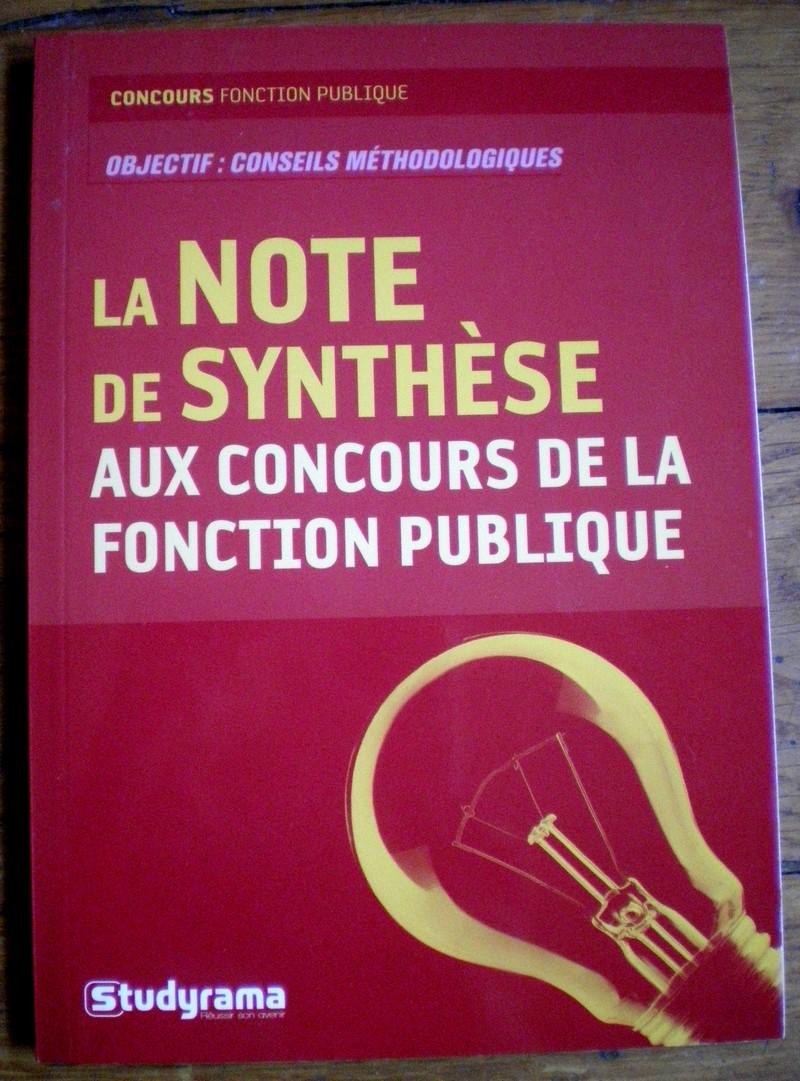 Note de synthese aux concours de la fonction publique studyrama vente troc bazar de la litterature - Salon de la fonction publique ...