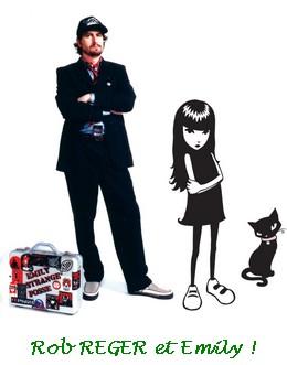 Rob Reger creator of Emily the Strange
