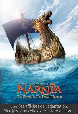affiche Narnia film 3