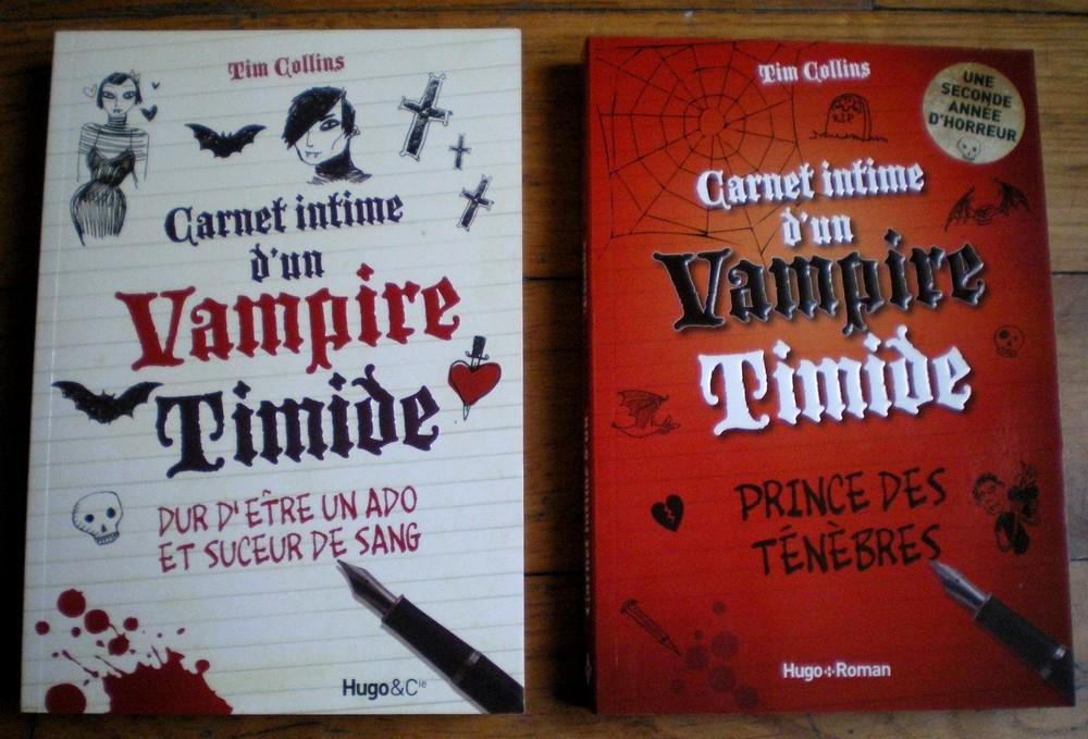 CARNET INTIME D UN VAMPIRE TIMIDE TIM COLLINS HUGO ROMAN TROC