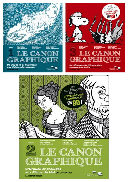 CANON GRAPHIQUE 3 VOLUMES