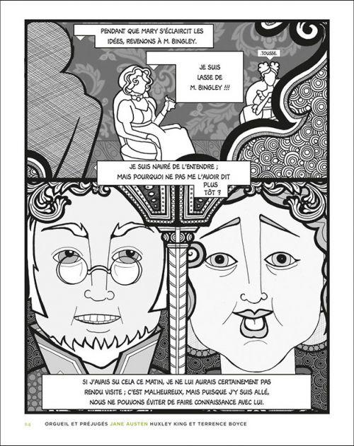 canon graphique volume 2 éditions télémaque extrait orgueil et préjugés