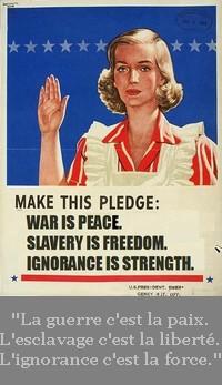 Pledge 1984 orwell