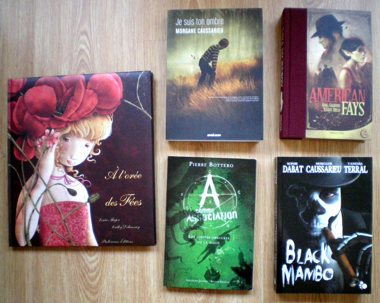 WHAT'S UP WEEKLY 2015 5 LIVRES ACHATS ONIRIQUES