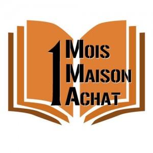 logo 1 mois 1 maison 1 achat challenge