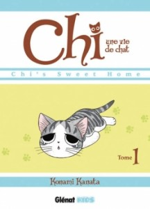 chi une vie de chat tome 1 konami kanata glénat