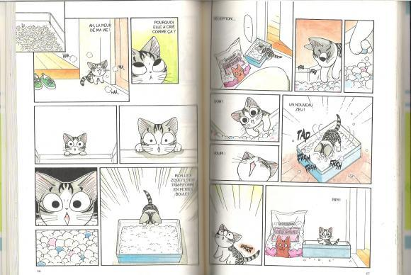 chi une vie de chat tome 1 konami kanata extrait