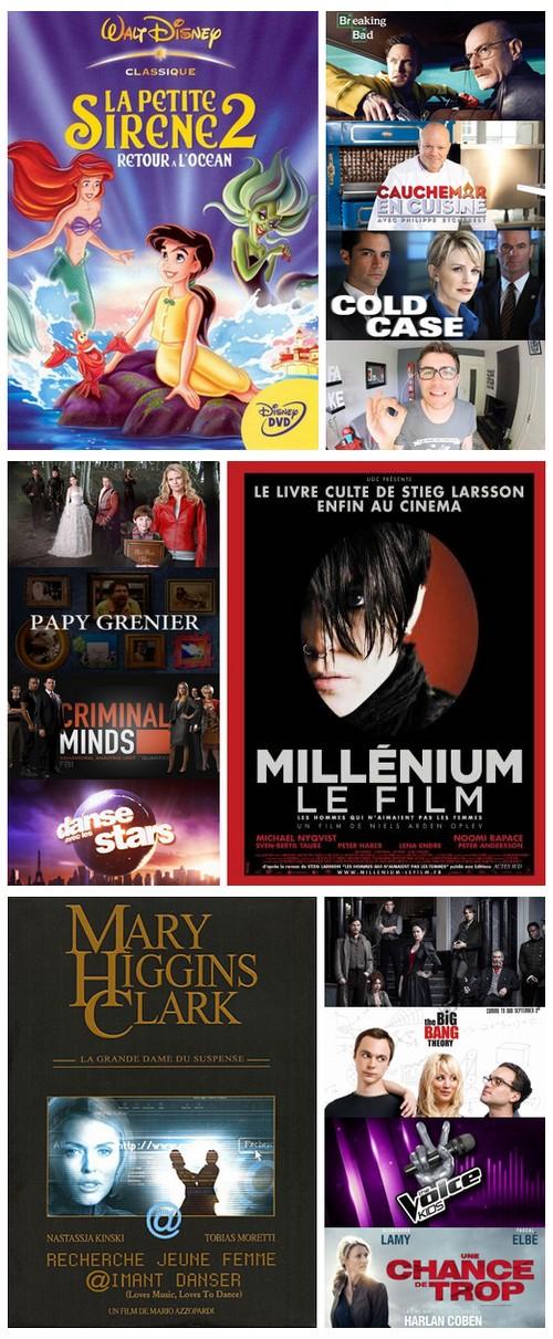 bilan visionnage séries films octobre 2015