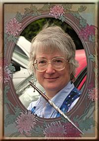Irene RADFORD, portrait trouvé sur son site.