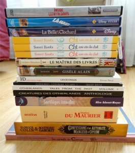 what's up weekly 2015 25 book haul miniature pile