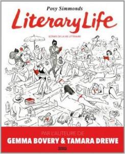literary life scènes de la vie littérarire posy simmonds denoël graphic
