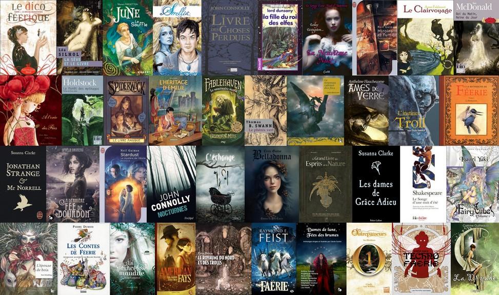 montage challenge a la recherche de faerie exemple livres