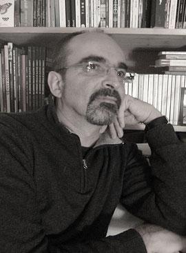 Olivier MOYANO, portrait trouvé sur le site de l'auteur.