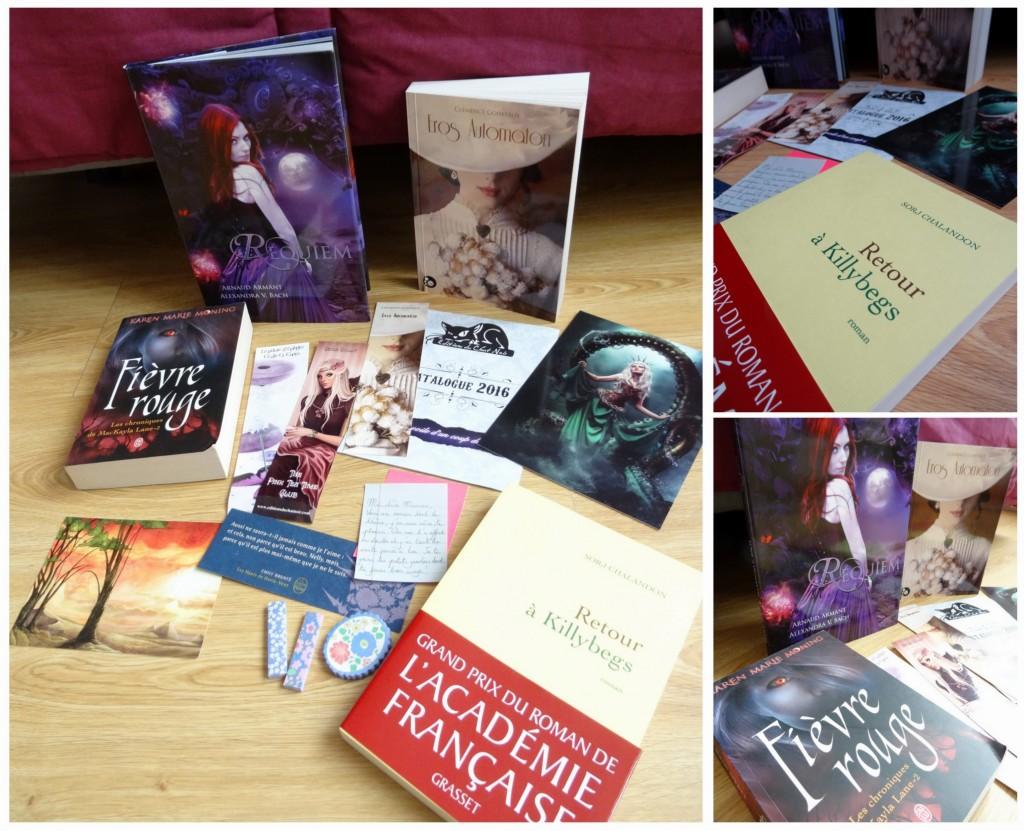 what's up 2016 5 livres chat noir cadeau carolivre troc troczone goodies