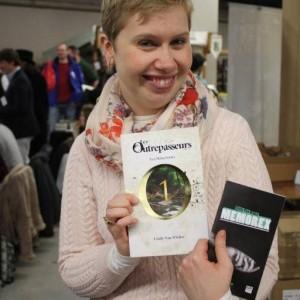 Cindy Van WILDER, portrait trouvé sur son compte Twitter !