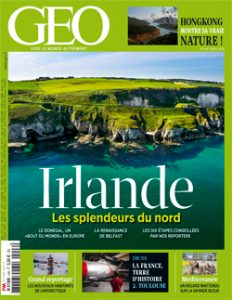 magazine géo avril 2016 irlande les spendeurs du nord