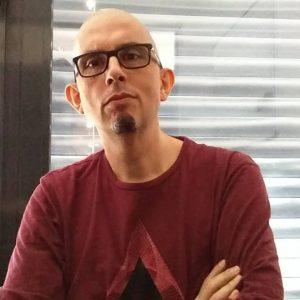 Fabrice CHAULIAC, portrait trouvé sur le site des Imaginales.