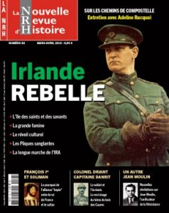 la nouvelle revue d'histoire nrh mars avril 2016 irlande rebelle