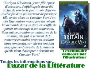concours 10 ans bazar de la litterature kristen britain cavalier vert tome 2