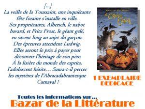 concours 10 ans bazar de la litterature le carnaval aux corbeaux anthelme hauchecorne