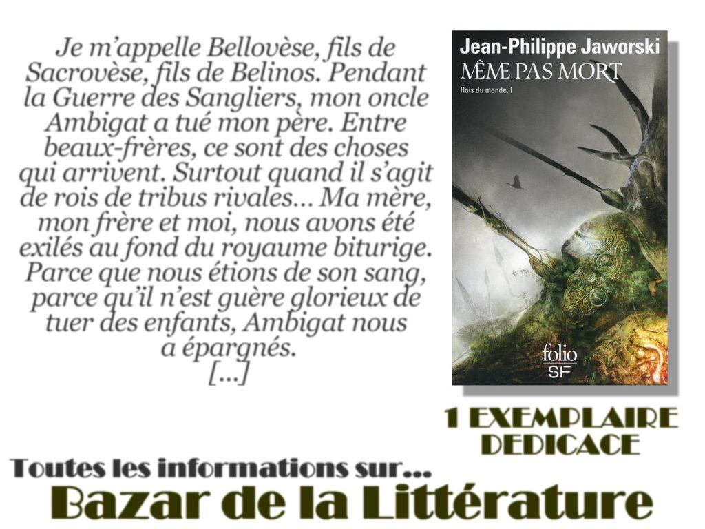 concours 10 ans bazar de la litterature meme pas mort jean philippe jaworski