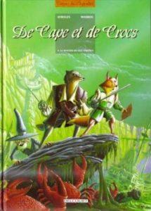 de cape et de crocs tome 4 le mystère de l'ile étrange ayroles masbou delcourt
