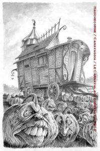 Illustration signée Loïc CANAVAGGIA.