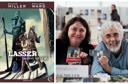 lasser-detective-des-dieux-tome-1-un-prive-sur-le-nil-de-sylvie-miller-philippe-ward-editions-critic-miniature