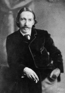 Portrait de Robert Louis STEVENSON, trouvé sur Quizrama.