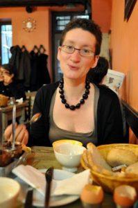 Portrait de Silène EDGAR, trouvé sur le blog du festival Scorfel.