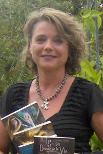 Valérie SIMON, portrait trouvé sur le site de L'Archipel.