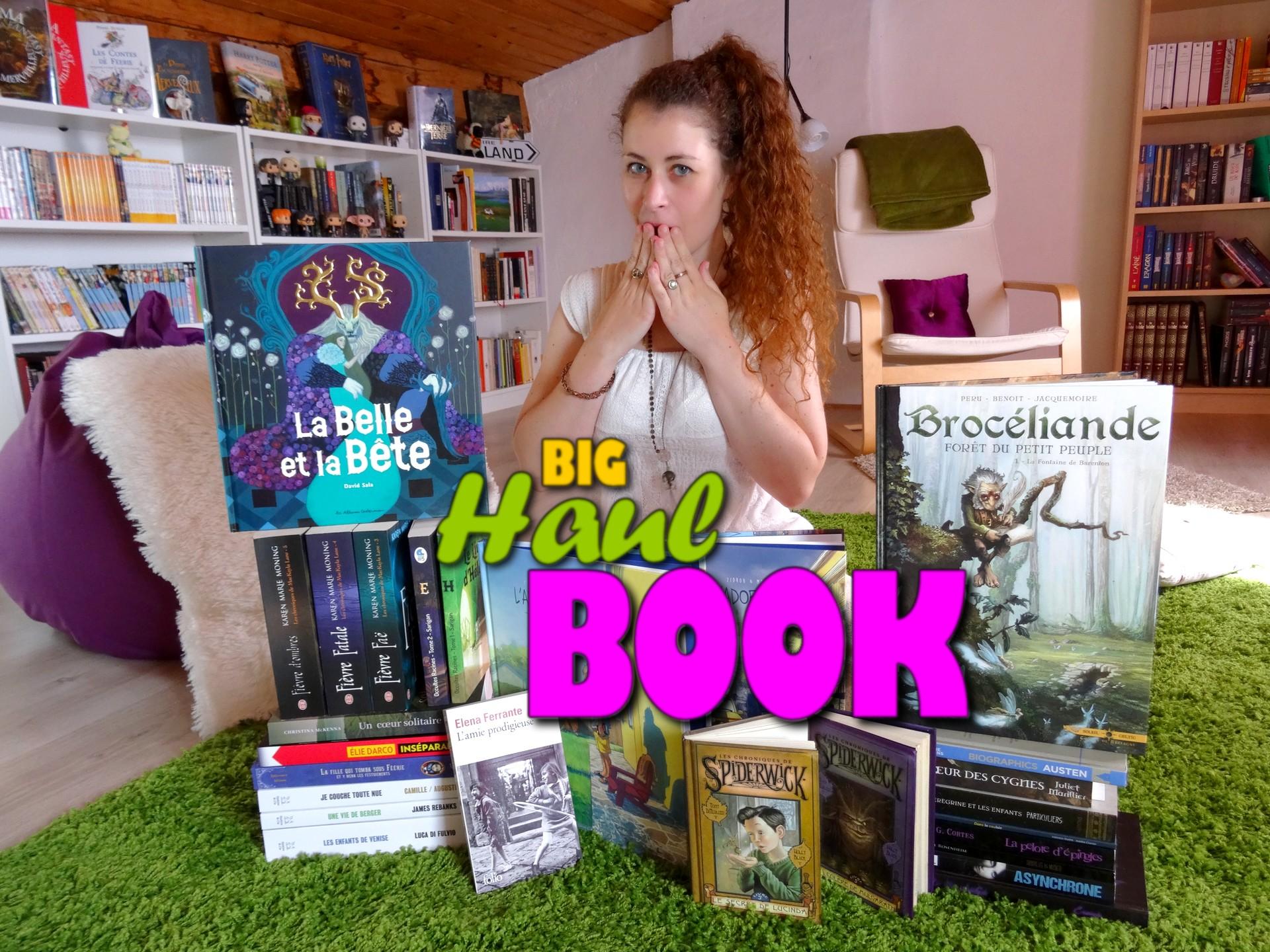 [VIDEO] Big Book Haul – 26 livres en mai/juin !
