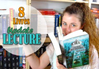 [VIDEO] Update Lecture – 8 livres en juillet !