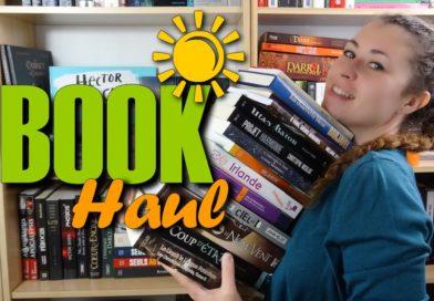 [VIDEO] BIG BOOK HAUL – Eté 2017