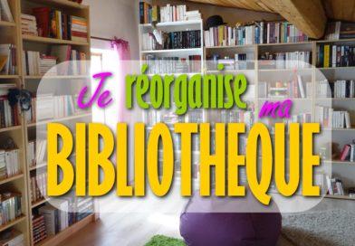 [VIDEO] Je réorganise ma bibliothèque (2000 livres) !