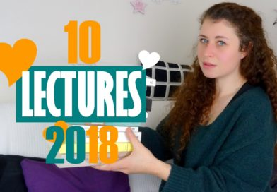 [VIDEO] Mes 10 meilleures lectures 2018 !