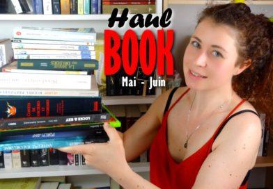 [VIDEOS] BOOK HAUL | Mars-Avril + Mai-Juin