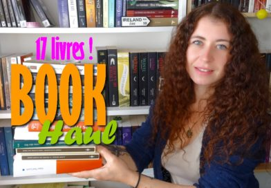 [VIDEO] BOOK HAUL | Juillet – Septembre (17 livres)