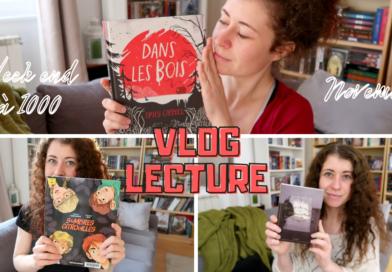 [VIDEO] 2 nouveaux vlogs lectures !