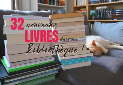 [VIDEO] BIG BOOK HAUL – 5 mois de nouveaux livres !